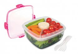 Salad to go, pink