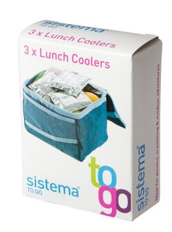 Lunch coolers - 3 stk