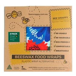Beeswax Food Wraps - 3 Pack