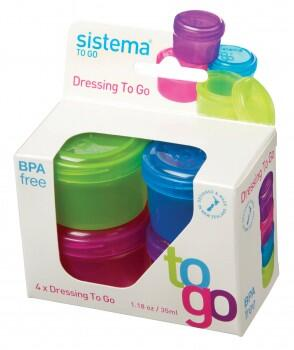 Dressing to go á 35 ml - 4-pak
