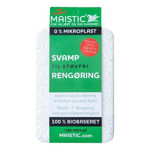 Svamp til støvfri rengøring Fri for microfiberplast