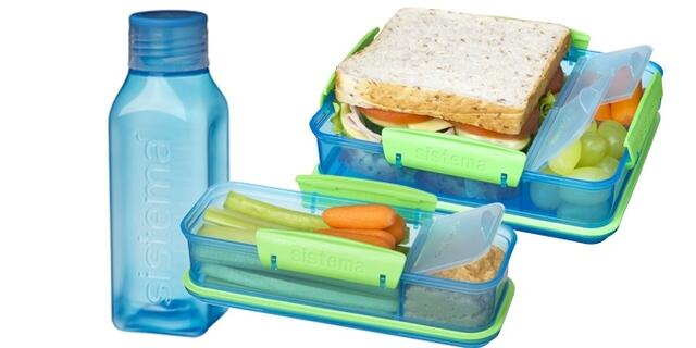 Lunch pack med square dunk - 3-pack